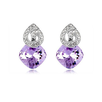Korean Crystal Earring Earrings [6268237702]