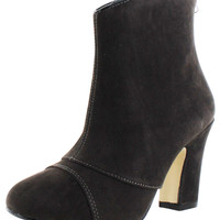 Chelsea Crew Lexington Women's Suede Ankle Booties Boots