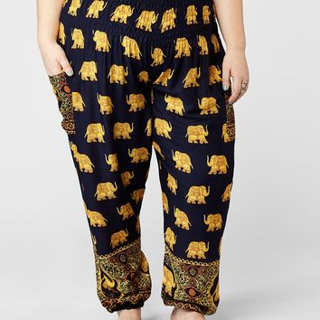 Tyke Plus Size Harem Pants
