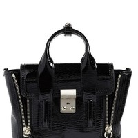 3.1 Phillip Lim 'Mini Pashli' Shark Embossed Leather Satchel | Nordstrom