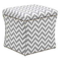 Storage Ottoman - Zig Zag | Ottomans | Living-room | Furniture | Z Gallerie