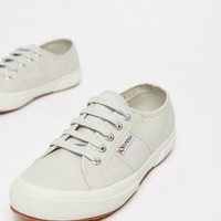 Superga 2750 Canvas Trainers In Grey at asos.com