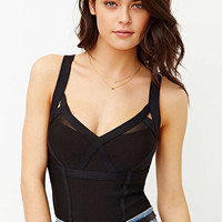 Silence + Noise Bodycon Cropped Tank Top - Urban Outfitters