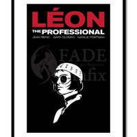 Mathilda Leon the Professional - The Professional Inspired - Movie Art Poster