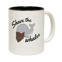 123t USA Shave The Whales Funny Mug