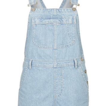 MOTO Bleach Short Overalls - Bleach