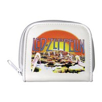 Led Zeppelin Women's White Girls Wallet White