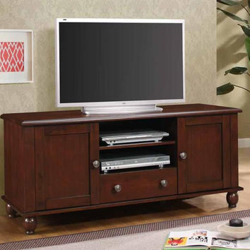Coaster Fine Furniture Tv Console Merlot 704411