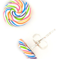 Tiny Taste Earrings in Candy