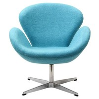 Lucile Lounge Chair BABY BLUE