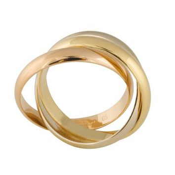 ONETOW Cartier Trinity Rolling Ring