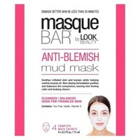 Masque Bar by Look Beauty Anti-Blemish Mud Mask - 4 Mask Sachets