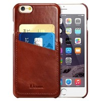 Leather iPhone Wallet Case by Benuo US