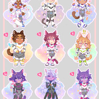 Voltron 2in Charms