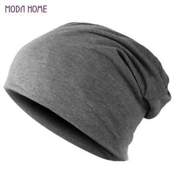 Spring Fashion Men Knitted Winter Cap,Casual Beanies for Men Solid Color Hip-hop Slouch Skullies Bonnet Unisex Cap Hat Gorro