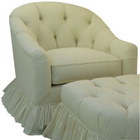Angel Song 201921170Down Tiara Ivory Adult Park Avenue - Adult - Glider Rocker w/ Plush Down Cushion