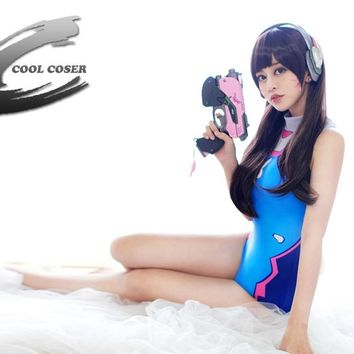 Over watch DVA cosplay Japan Anime Triangle sexy h