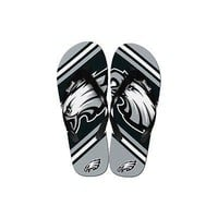 NFL Philadelphia Eagles Big Logo Unisex Mens & Womens Flip Flops Sandals[M ( ...
