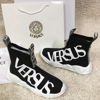 Versus Fashion Knit Sneakers