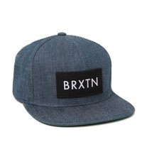 Brixton Rift Snapback Hat - Mens Backpack - Blue - One