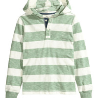 Hooded Shirt - from H&M