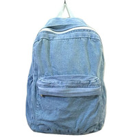 2015 New Fashion School Bags for Girls And Boys Travel Denim Backpack Students Computer Backpacks for Women Rucksack Style