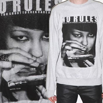 Cocaine Girl DOPE Drugs MDMA Sweater Fashion Jumper Club Party Fun Sweatshirt