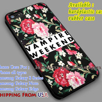 Vampire Weekend | Rock Band | Rose iPhone 6s 6 6s+ 6plus Cases Samsung Galaxy s5 s6 Edge+ NOTE 5 4 3 #music #vw dl2