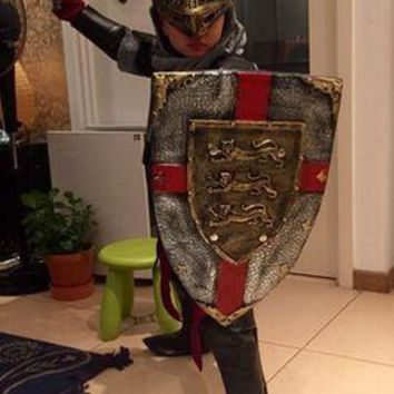 Adult/Child Medieval Knight Costume Armor Warrior Cosplay