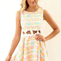 Lollipop Flare Dress | SABO SKIRT