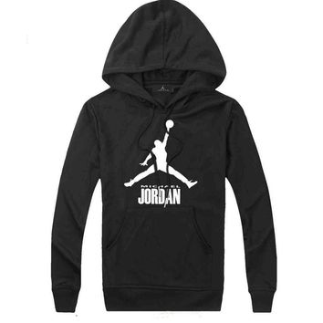 Jordan Women Men Fashion Casual Top Sweater Pullover Hoodie-7