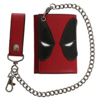 Marvel Deadpool Tri-Fold Chain Wallet