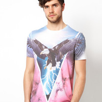 ASOS T-Shirt With Eagle Print