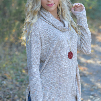 Bundle Up Two Tone Sweater