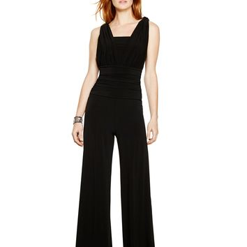 White House | Black Market Genius Convertible Black Jumpsuit