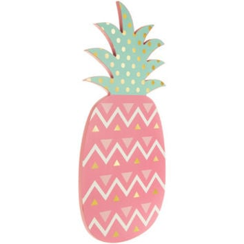 Pink Pineapple Wood Wall Decor | Hobby Lobby | 1472547