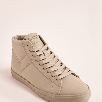 Pony Leather High-Top Sneakers