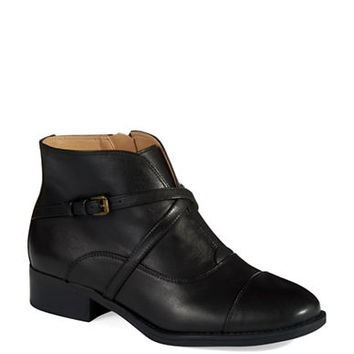 Isaac Mizrahi New York Straps Ankle Booties