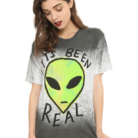Teen Hearts It's Been Real Alien Girls T-Shirt