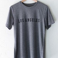 Los Angeles Relaxed Tee - Grey