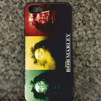 iPhone 5 Bob Marley Custom Hard iPhone Case is Available in Black