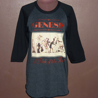 Workout Shirts — Gennesis T Shirt Basenall Tee Final Funtasy Shirt Music Band Crew Neck Raglan Shirt Size M L XL