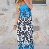 Take Two Ombre Maxi Dress - Blue