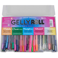 Gelly Roll Pens Gift Set 74/Pkg-