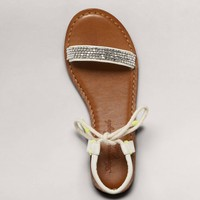 AEO Beaded Rope Gladiator Sandal | American Eagle Outfitters