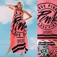 Pink Beach Towel Fashion High Quality Bath Towels 100% Cotton Swimming Towel