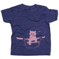 Fanny Cat Kids T-Shirt