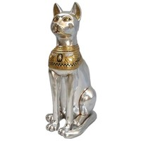 SheilaShrubs.com: Egyptian Cat Goddess Bastet Statue - Grande NE23224 by Design Toscano: Indoor Sculptures & Statues