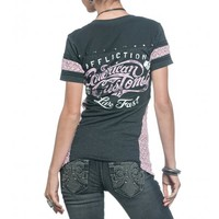 DEVILLE LACE SCOOP TEE - New Arrivals - Womens