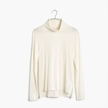Whisper Cotton Turtleneck : shopmadewell AllProducts | Madewell
